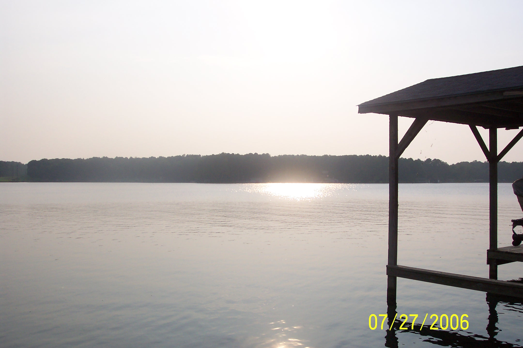 Sunrise on Lake Gaston